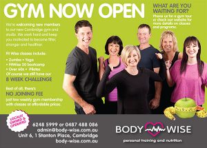 BodyWise ad 24 July